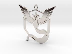 Pokemon GO: Team Mystic Pendant in Platinum