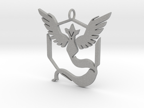 Pokemon GO: Team Mystic Pendant in Aluminum