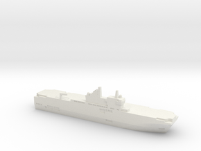 Mistral-class LHD, 1/2400 in White Natural Versatile Plastic