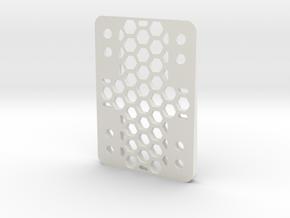 RazorWedge8Hole.3.5 in White Natural Versatile Plastic