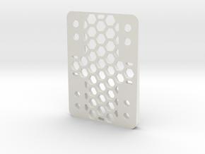 RazorWedge8Hole.4.0 in White Natural Versatile Plastic