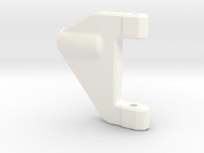 NS-UpperArm-Left-V2 in White Processed Versatile Plastic