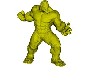 45mm Incredible Hulk figure in Smooth Fine Detail Plastic