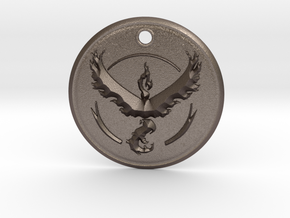 Team Valor Pendant- Pokemon Go in Stainless Steel