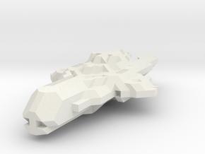 CGS Fighter (Starmade model) in White Natural Versatile Plastic