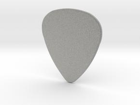 Blank Pick 1.5mm in Metallic Plastic
