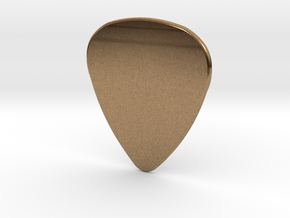 Blank Pick 1.5mm in Natural Brass