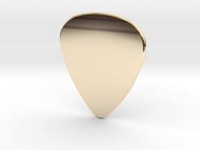 Blank Pick 1.5mm in 14k Gold Plated Brass