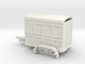 1040 Tiertransporter HO in White Natural Versatile Plastic