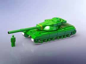 British FV 214 Conqueror Set of 2 1/200  in Frosted Ultra Detail