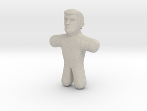 Trump Voodoo Doll - Small in Natural Sandstone