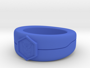 Team Mystic ring size 10 in Blue Processed Versatile Plastic