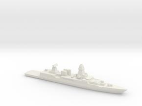 Sachsen-class frigate, 1/3000 in White Natural Versatile Plastic