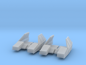 Kashtan Spare Cartridge Bins 1/72 in Smooth Fine Detail Plastic