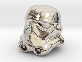 Storm Trooper Helmet  in Platinum