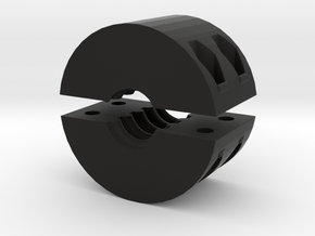 Retainer Nut 1204 in Black Natural Versatile Plastic