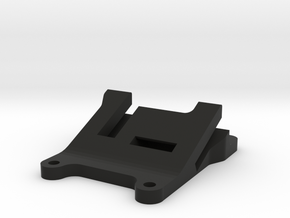 QAV 25° GoPro Mount for Modular Mounting System in Black Natural Versatile Plastic
