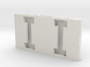 NBiK AWK X604.001 Fahrwerk (BM 35) in White Natural Versatile Plastic
