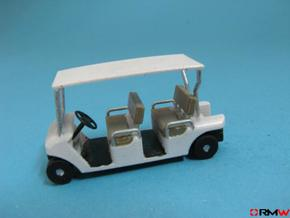 HO/1:87 Buggy, 2 seating rows, kit in Frosted Ultra Detail