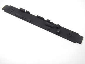 Amtrak Horizon Coach Underframe in Black Natural Versatile Plastic