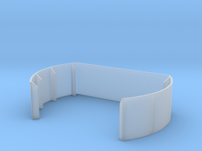 1/144 40mm Twin Midships Tub in Smooth Fine Detail Plastic