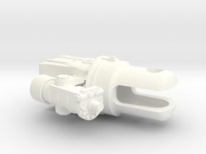 Scale Blade Holder Lh in White Processed Versatile Plastic