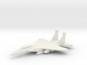 1/350 F-15E Advanced Strike Eagle in White Natural Versatile Plastic