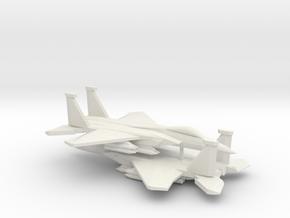 1/350 F-15C 2040C Advanced Eagle (x2) in White Natural Versatile Plastic