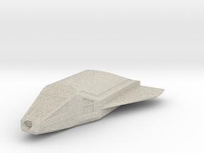 Omega-Class Shuttlecraft in Natural Sandstone