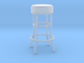 1-12.Metal Stool (not full size) in Smooth Fine Detail Plastic