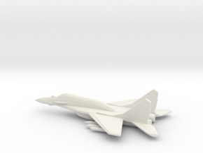 1/350 MiG-29SMT 'Fulcrum-E' in White Natural Versatile Plastic