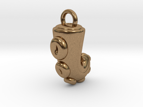 CHIBI CHUBBY TENTACLE in Natural Brass