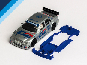 1/32 Ninco Mercedes C-Klasse DTM Chassis in Blue Strong & Flexible Polished