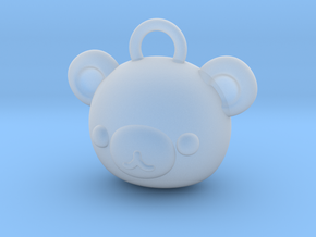 CUTEY BEAR PENDANT in Smooth Fine Detail Plastic