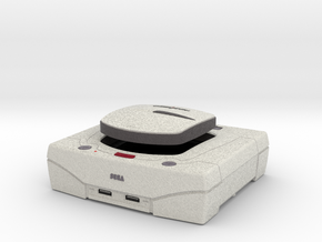 1:6 Sega Saturn (White) in Full Color Sandstone