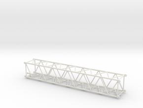 CONRAD TEREX DEMAG AC500/1-2 Luffing section Mediu in White Natural Versatile Plastic