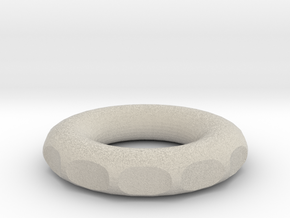 small tiny rodin coil frame in Natural Sandstone
