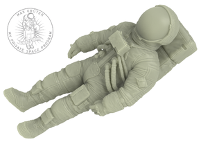Buzz Aldrin 1:32 (ready to egress LM) in White Natural Versatile Plastic