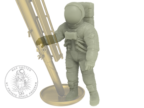"""Neil Armstrong-""""Small step""""  1:32 in White Natural Versatile Plastic"""