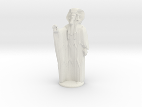 Ra in Robes with hand device - 20 mm in White Strong & Flexible