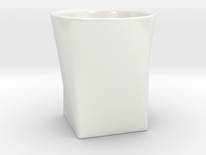 Espresso Cup 55ml in Gloss White Porcelain