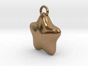 LITTLE STAR in Natural Brass