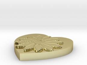 Model-fbd6e3176a0e8802b9f44f53e683a172 in 18k Gold Plated Brass