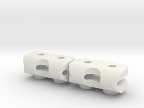 Servomount SANWA SRG-BLS for Jabber with SDS 2.0 in White Natural Versatile Plastic