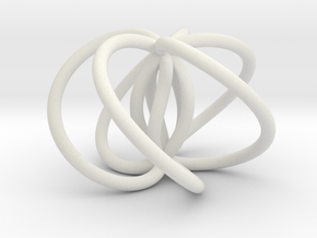 3,5 Spindle in White Natural Versatile Plastic