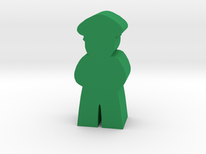 Game Piece, Military Officer in Green Strong & Flexible Polished
