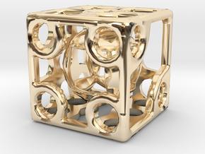 ZWEIDIE in 14k Gold Plated Brass