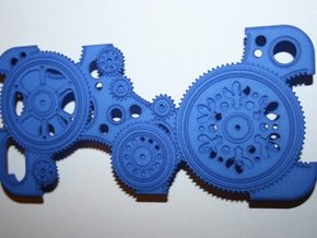 Cogwheels IP5 v.II in Blue Processed Versatile Plastic