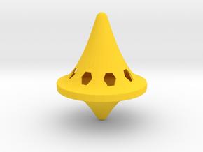 Top in Yellow Processed Versatile Plastic