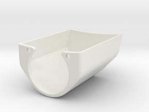 MVANTAGE Switch Cover in White Natural Versatile Plastic